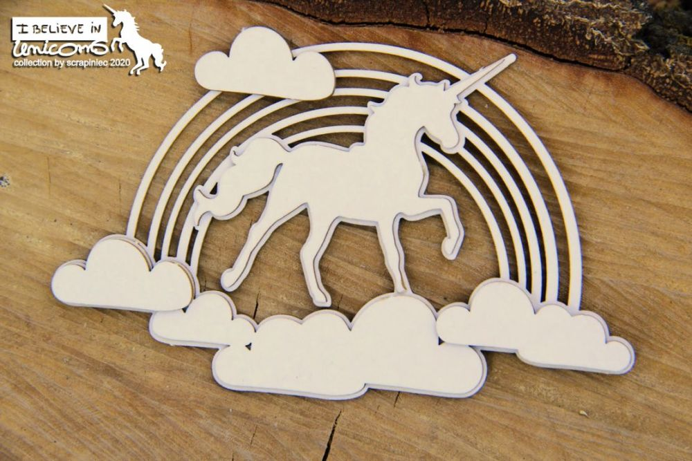 Believe in Unicorns - Rainbow Decor (5734)