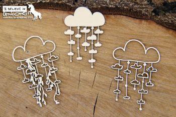 Believe in Unicorns - garland clouds (5736)