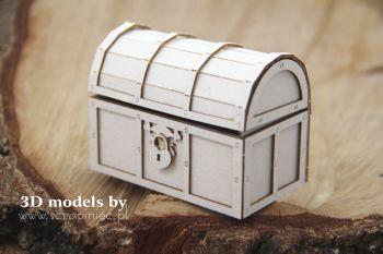 3D model treasure chest (5647)