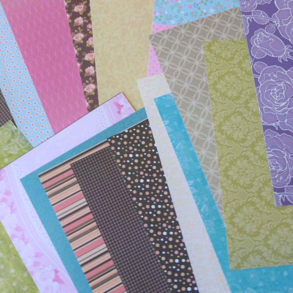 Assorted Papers A4 x 10 sheets
