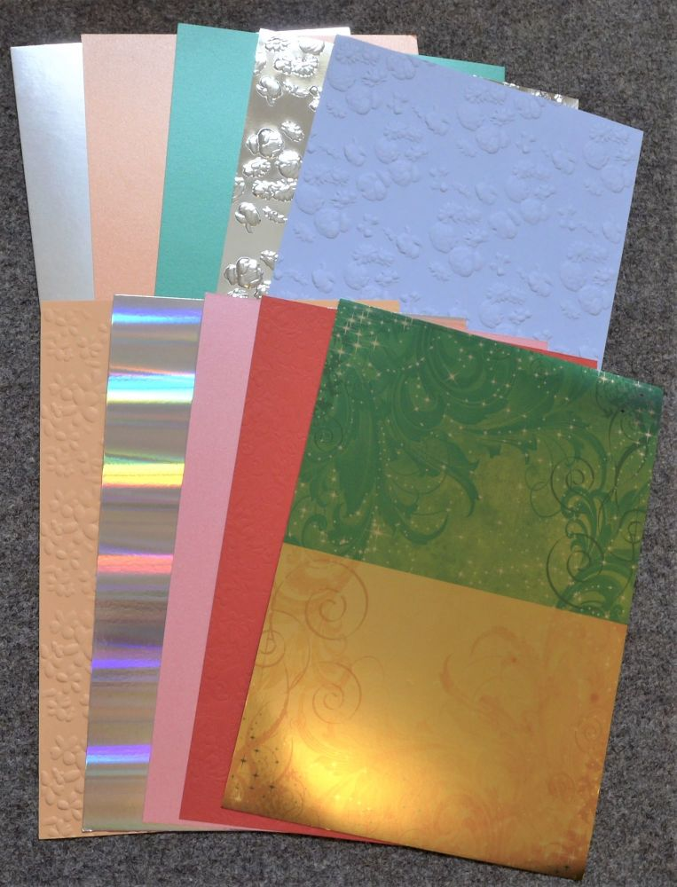 Assorted Surface Card 10 A4 Sheets