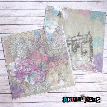 Paper Napkins - Pretty Paris (PN004)
