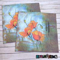 Paper Napkins - Flower haze (PN007)