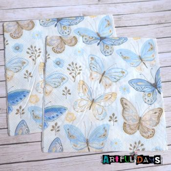 Paper Napkins - Butterfly Collection (PN012)