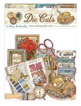 Stamperia Atelier des Arts Die Cuts (DFLDC33)