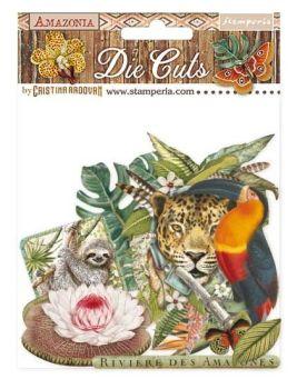 Stamperia Amazonia Die Cuts (DFLDC30)