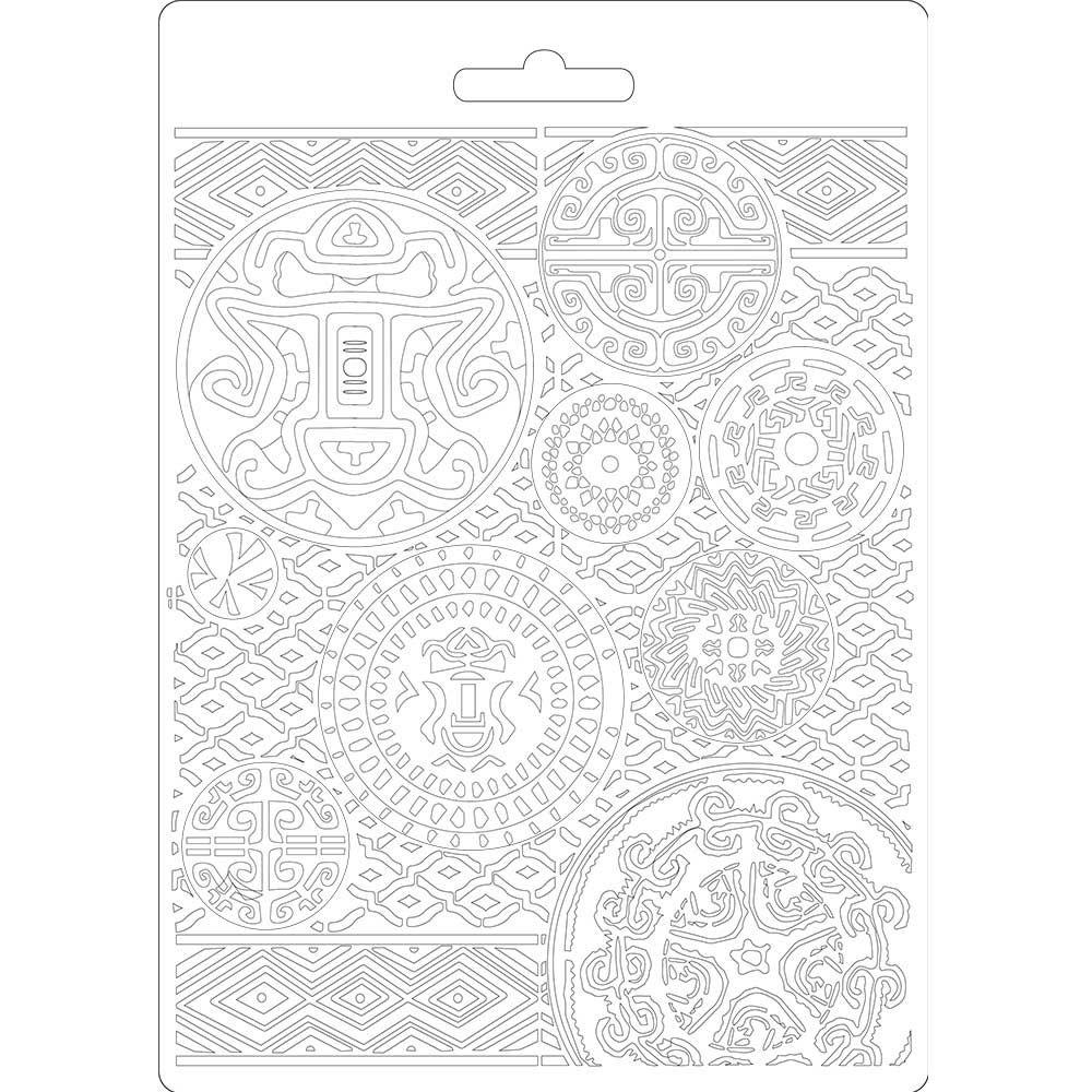 Stamperia Amazonia Soft Mould A5 Amazonia Texture (K3PTA573)