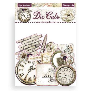 Stamperia Romantic Journal Die Cuts (DFLDC34)