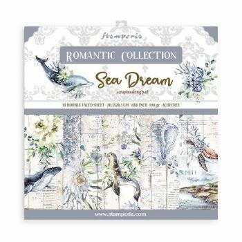Stamperia Romantic Sea Dream 8x8 Inch Paper Pack (SBBS35)