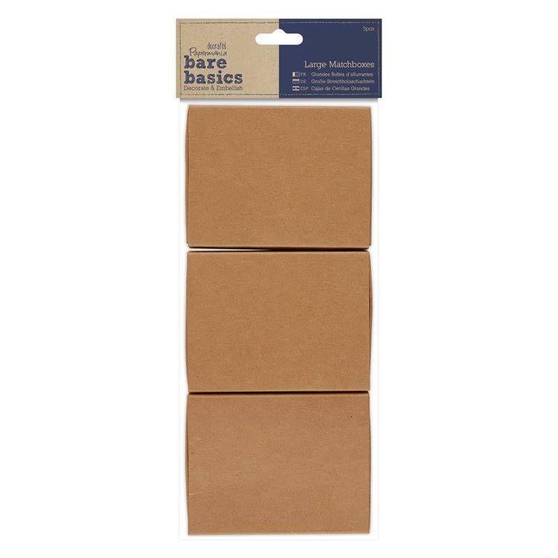 Papermania Bare Basics Large Matchboxes (PMA 174653)