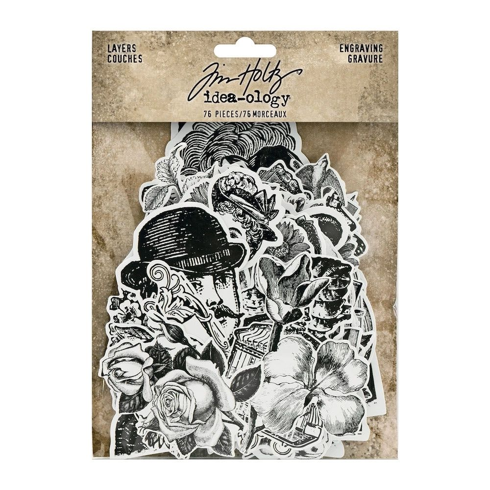 Idea-ology Tim Holtz Layers Engraving (TH94125)