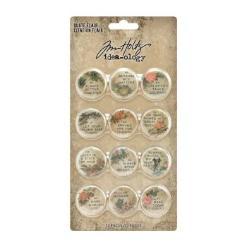 Idea-ology Tim Holtz Quote Flair (TH94116)