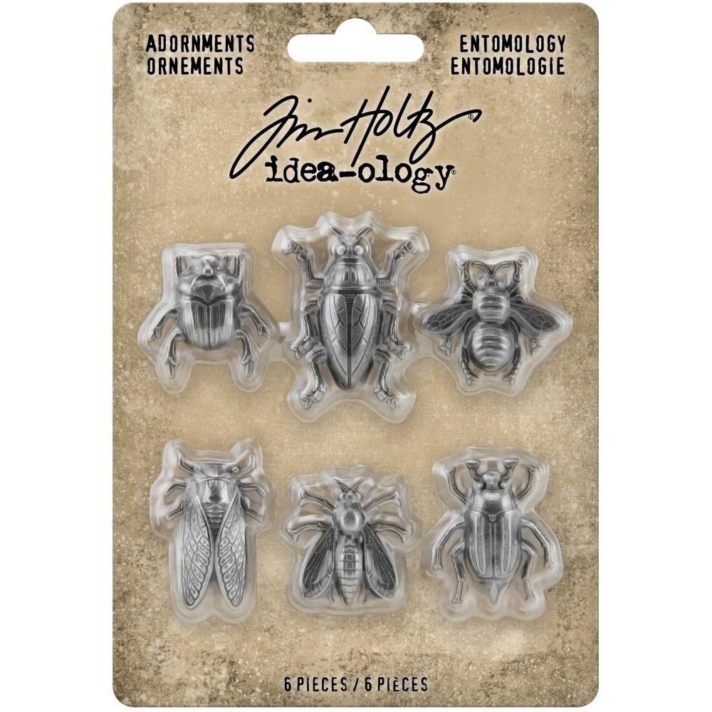Idea-ology Tim Holtz Entomology Adornments (TH94079)