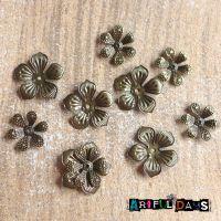 Bronze Petals, 2 Sizes (C108)