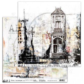 """Elements - Scrapbooking Paper 12 x 12"""" - Urban Landscapes no.1"""