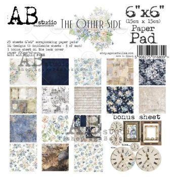 """The other side"" Scrapbooking Paper 6x6"" Pad, 25 Sheets + 1 Bonus Sheet Set"