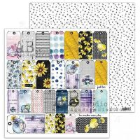"""""""Just Be"""" Scrapbooking Paper 12 x12""""- sheet 4-Little things"""