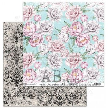 """""""Unexpected"""" Scrapbooking Paper 12 x12""""- sheet 6-Very pleasant"""