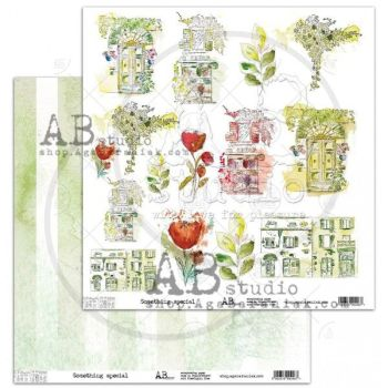 """Elements - Scrapbooking Paper 12 x 12"""" - Something Special"""