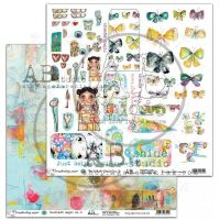 By Tandiart, Elements Scrapbooking Paper 12 x12 - TandiArt-Magic-no2