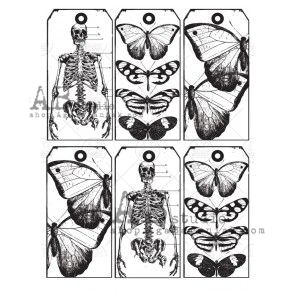 Tracing Paper 0078 - Skeletons & Butterflies