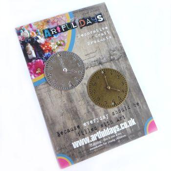 Treasured Artefacts - Pair of Clock Faces(TA222)