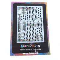 Artful Days A6 Stencil - Didi Dots (ADS013)