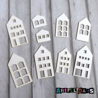 Artful Days Chipboard - Houses (ADC004)