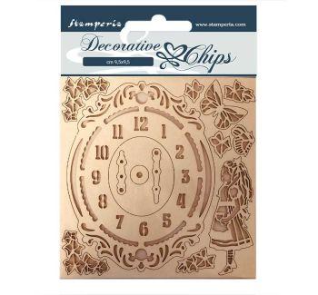 Stamperia Alice Decorative Chips Keys and Frames (SCB75)