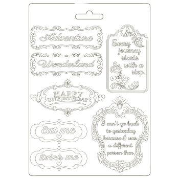 Stamperia Alice Soft Mould A5 Plates (K3PTA590)