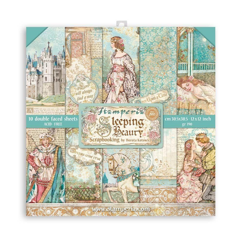 Stamperia Sleeping Beauty  12 x 12