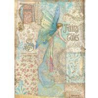 Stamperia Sleeping Beauty A4  Rice Paper Fairy Tales (DFSA4577)