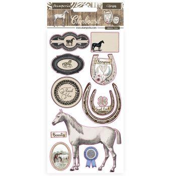 Stamperia Romantic Horses Chipboards(DFLCB31)