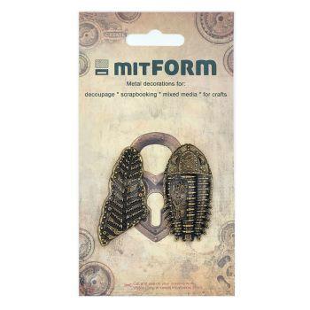 Mitform Prehistory 4 Metal Embellishments (MITS066)