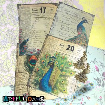 Peacock Journaling  Pack (PA007)