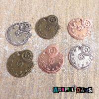 Gears & Cogs Clock  Charms(C089)