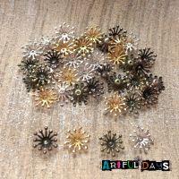 Metal Flower Centers/Stamen Assorted Colour (C012)