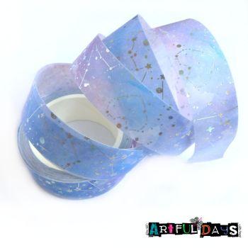 Solar Star Silver Foil Washi Tape (W8020)