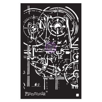 Prima Finnabair Stencil - Machinery (968984)