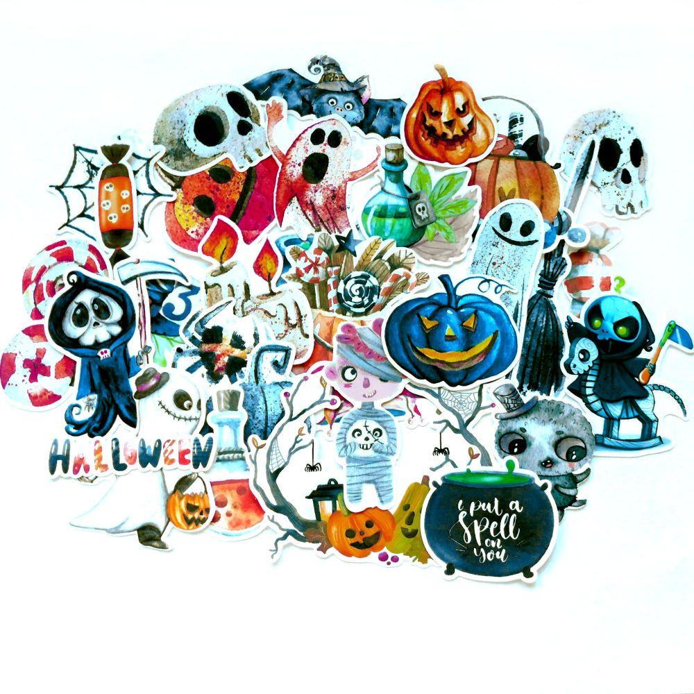 Spooky Halloween Assorted Stickers