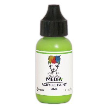 Dina Wakley Media Acrylic Paints 1oz - Lime