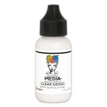 Dina Wakley Media Acrylic Paints 1oz - Clear Gesso