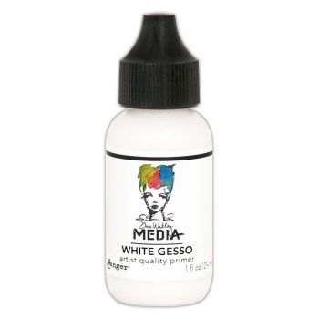 Dina Wakley Media Acrylic Paints 1oz - White Gesso