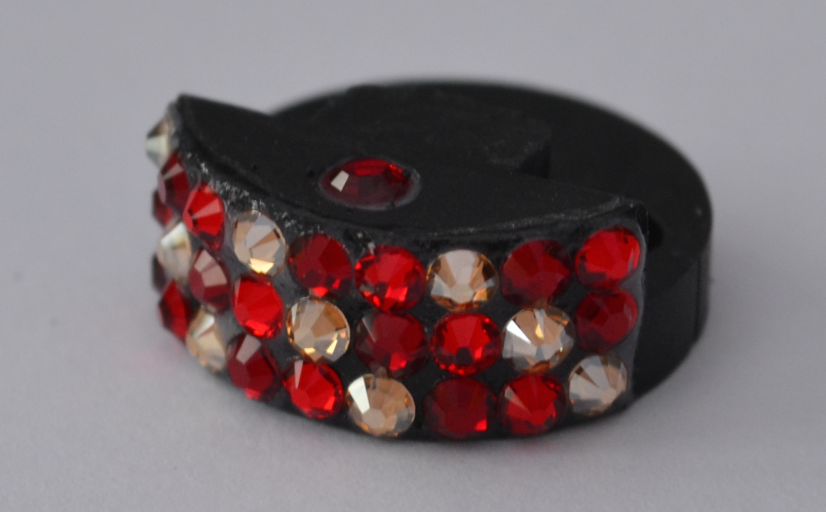 Swarovski Violin/Viola Mute in Fire Palette colours