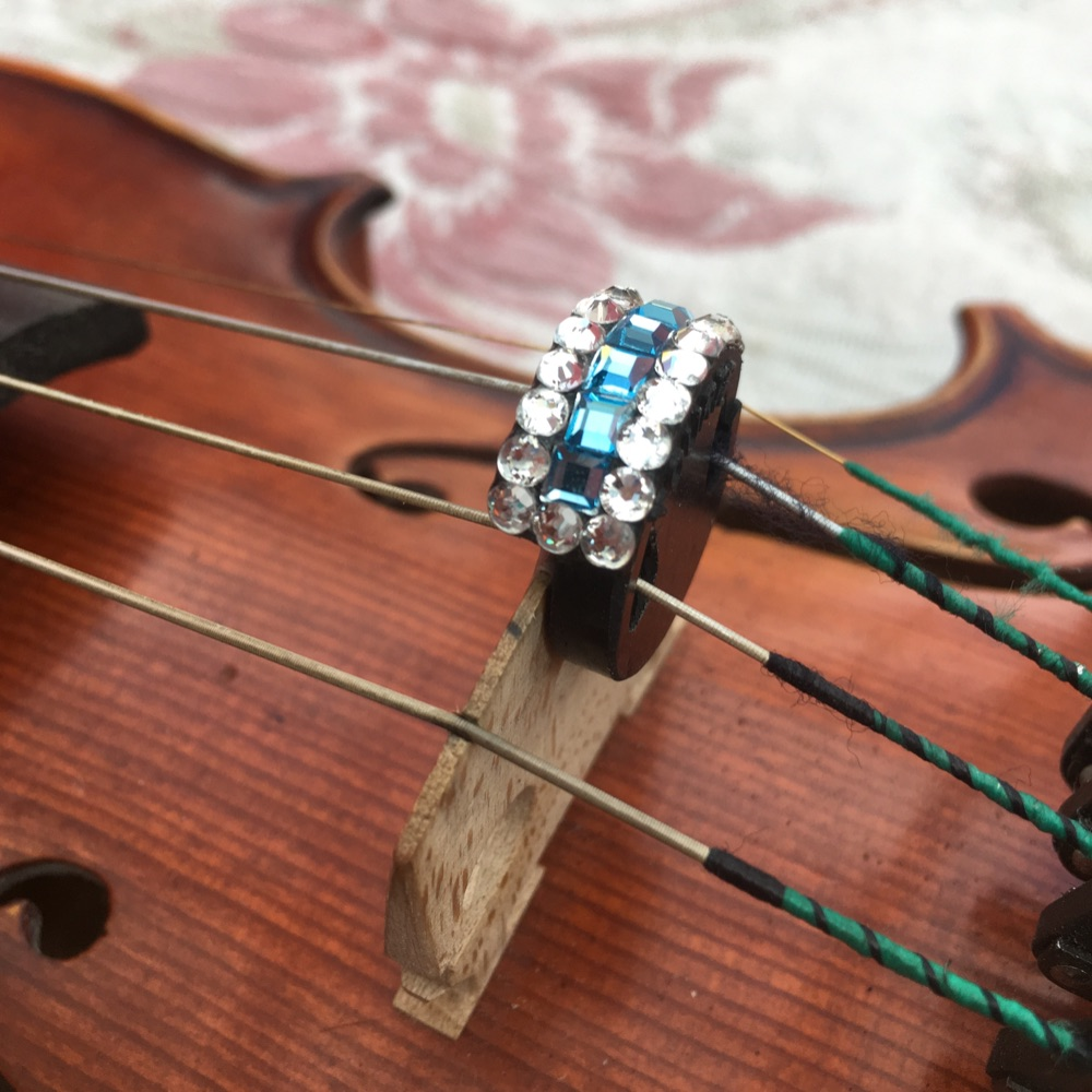 (6) Violin and Viola Mutes - Coronet Style