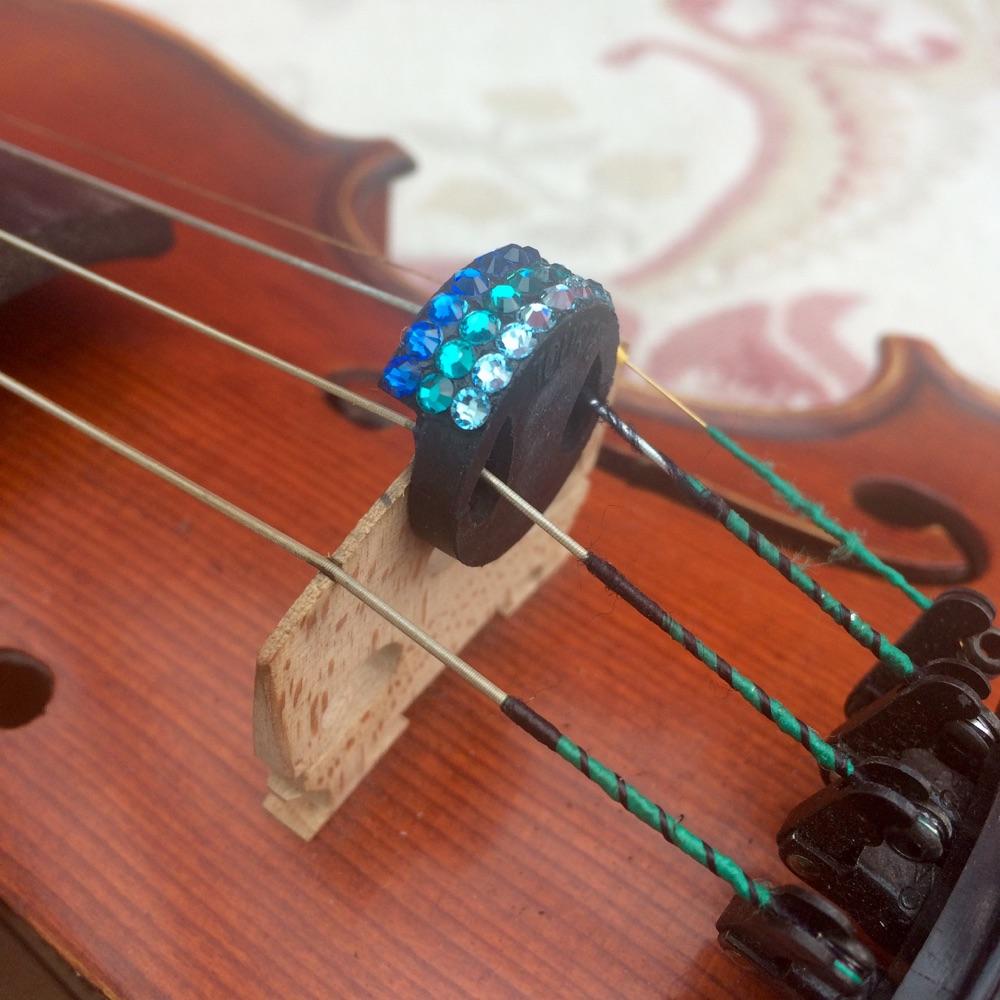 (4) Violin and Viola Mutes - Horizontal Stripes