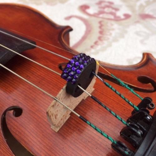 Violin/Viola Mute - Purple Velvet (277)
