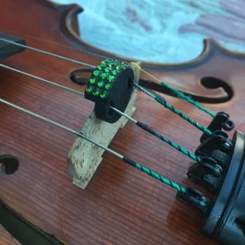 Violin Mute - Fern Green (291)