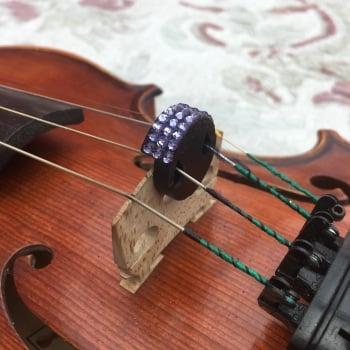 Violin/Viola Mute - Tanzanite (539)