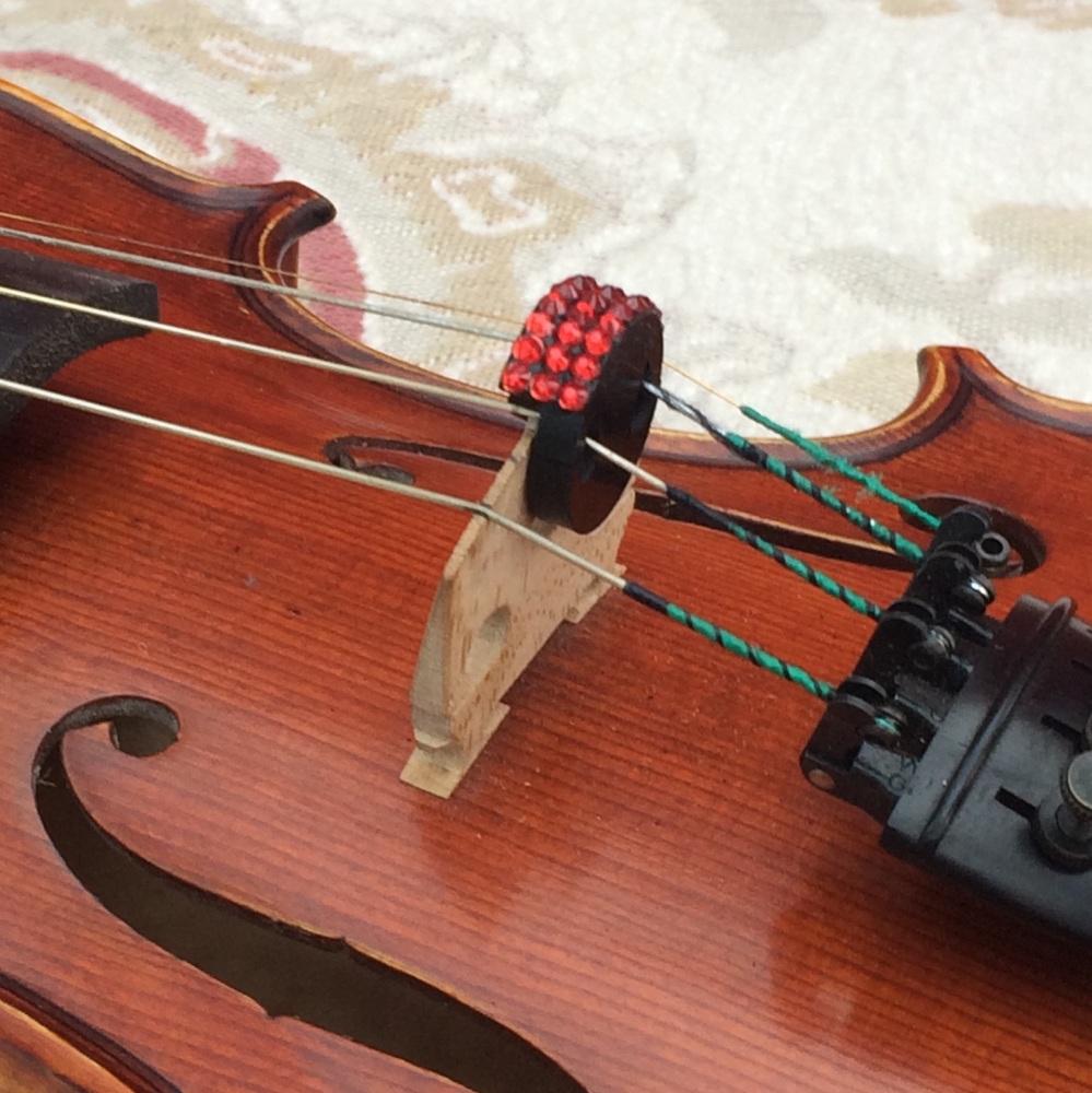 Violin/Viola Mute - Indian Siam (327)
